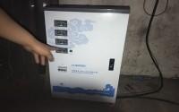 空压机专用稳压器应用在喷漆厂